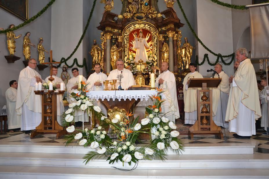 Turnišče - slovesnost ob sklepu škofijskega misijona