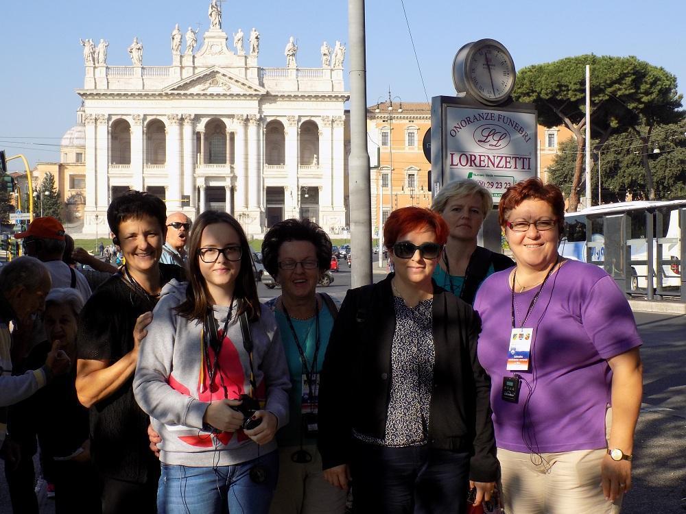 Zahvalno svetoletno romanje v Rim