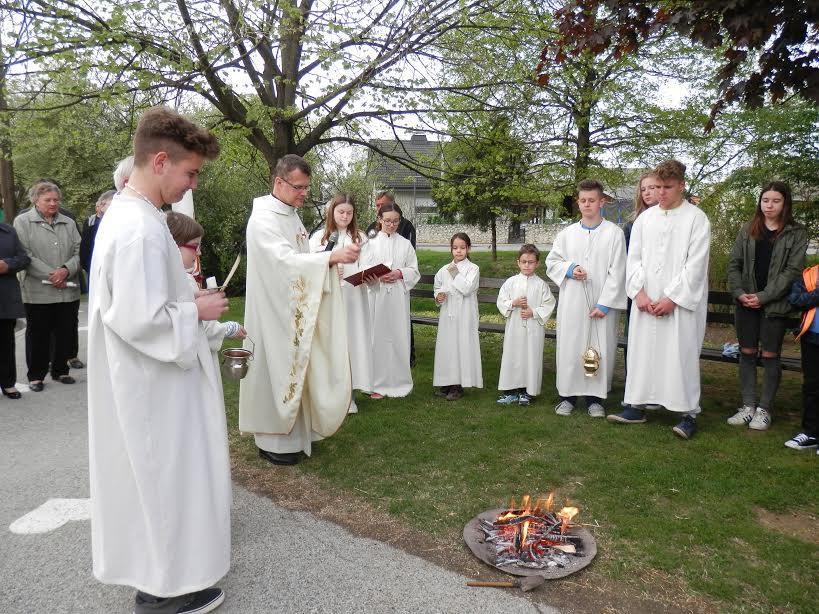 Velika sobota - blagoslov ognja