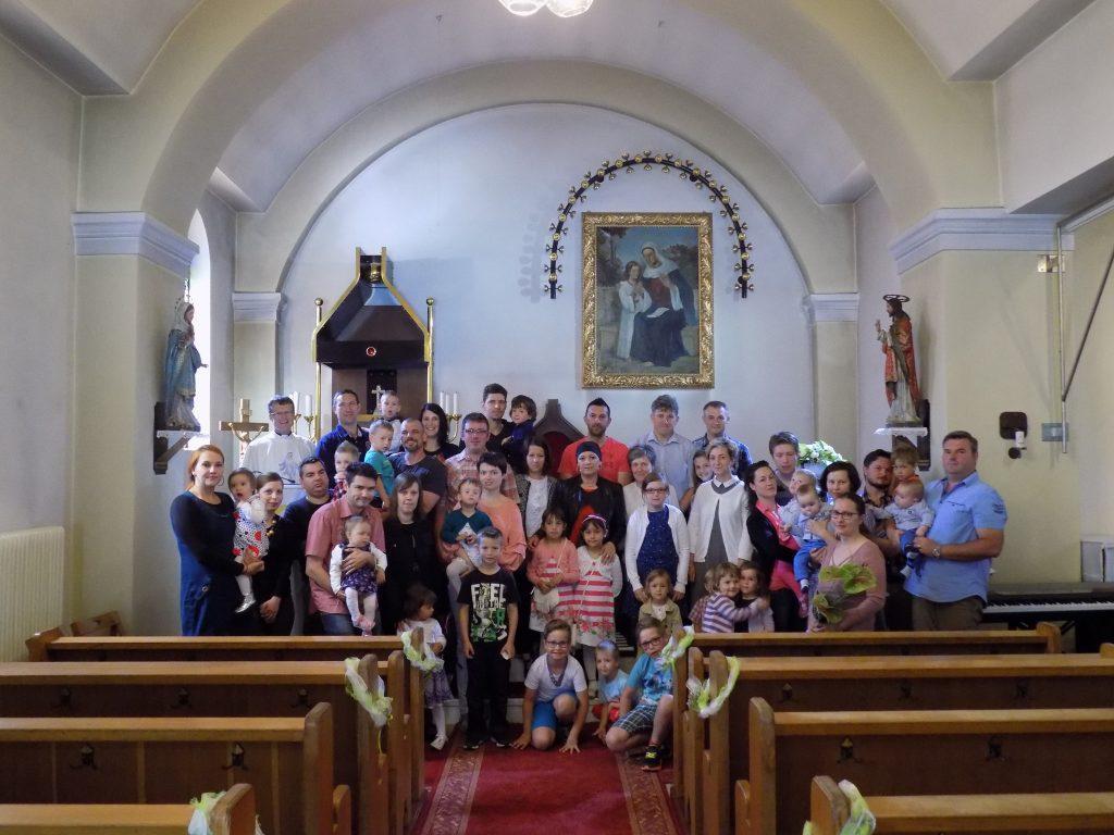 Srečanje staršev in otrok, krščenih 2012-2017