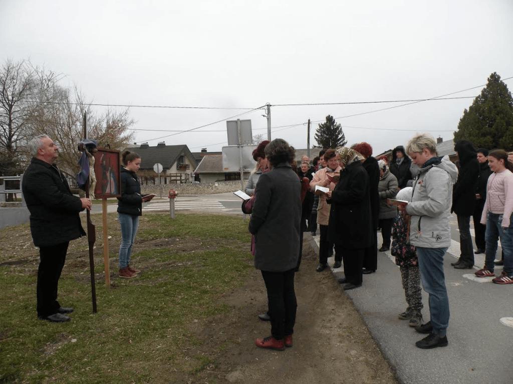 Ulični križev pot - 1. postna nedelja