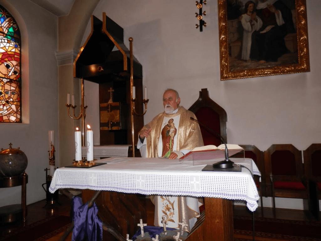 Jožefovo - gostujoči mašnik g. V.Hribernik