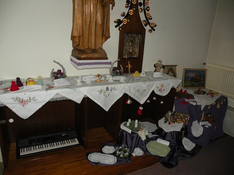 Razstava na temo advent in božič