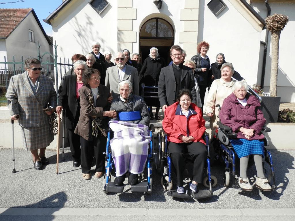 5. postna nedelja - maša za bolne in starejše župljane
