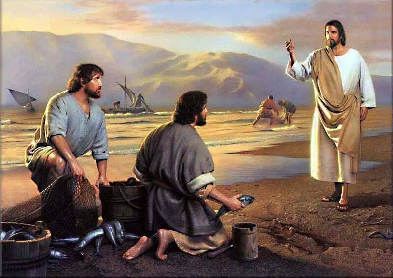 2 nedelja med letom - Prva dva učenca govorita z Jezusom (Jn 1,35-42)