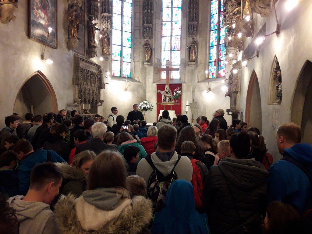 Škofijsko romanje ministrantov