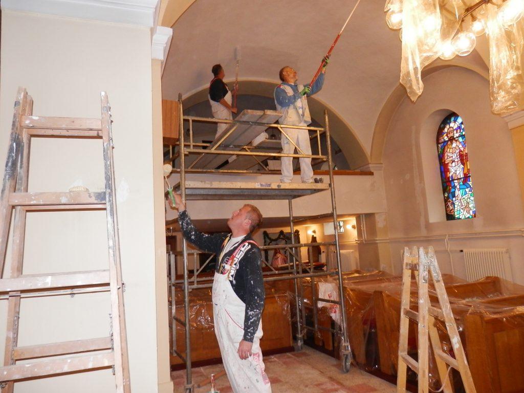 Pleskanje cerkve