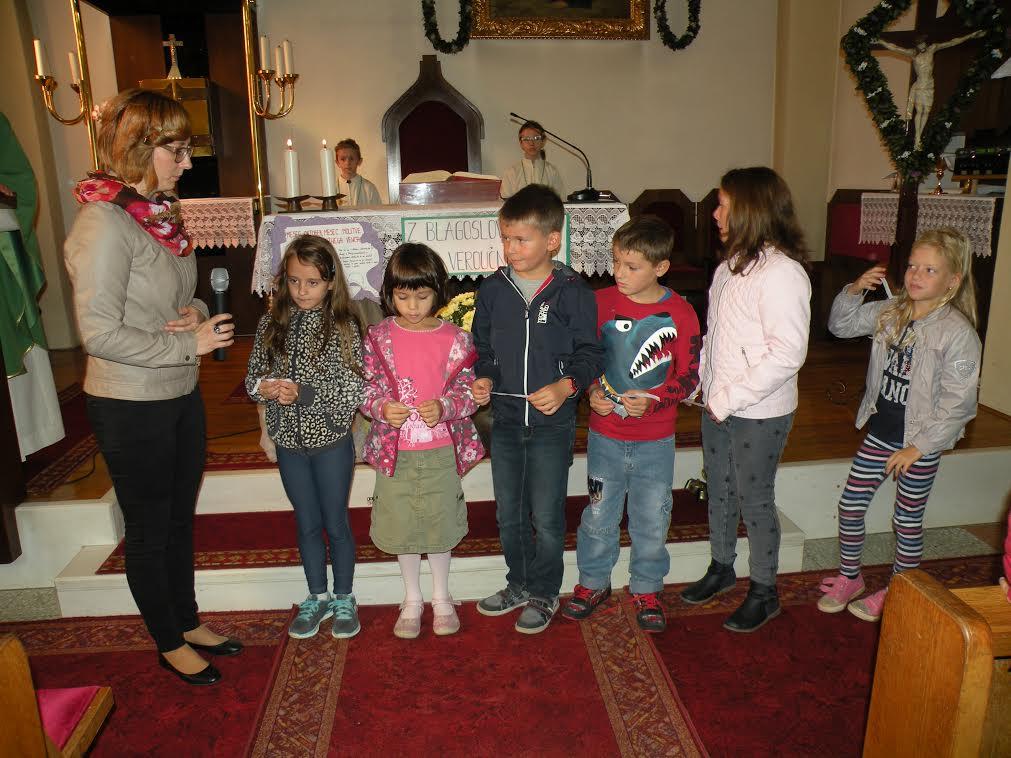 Sodelovanje veroučencev