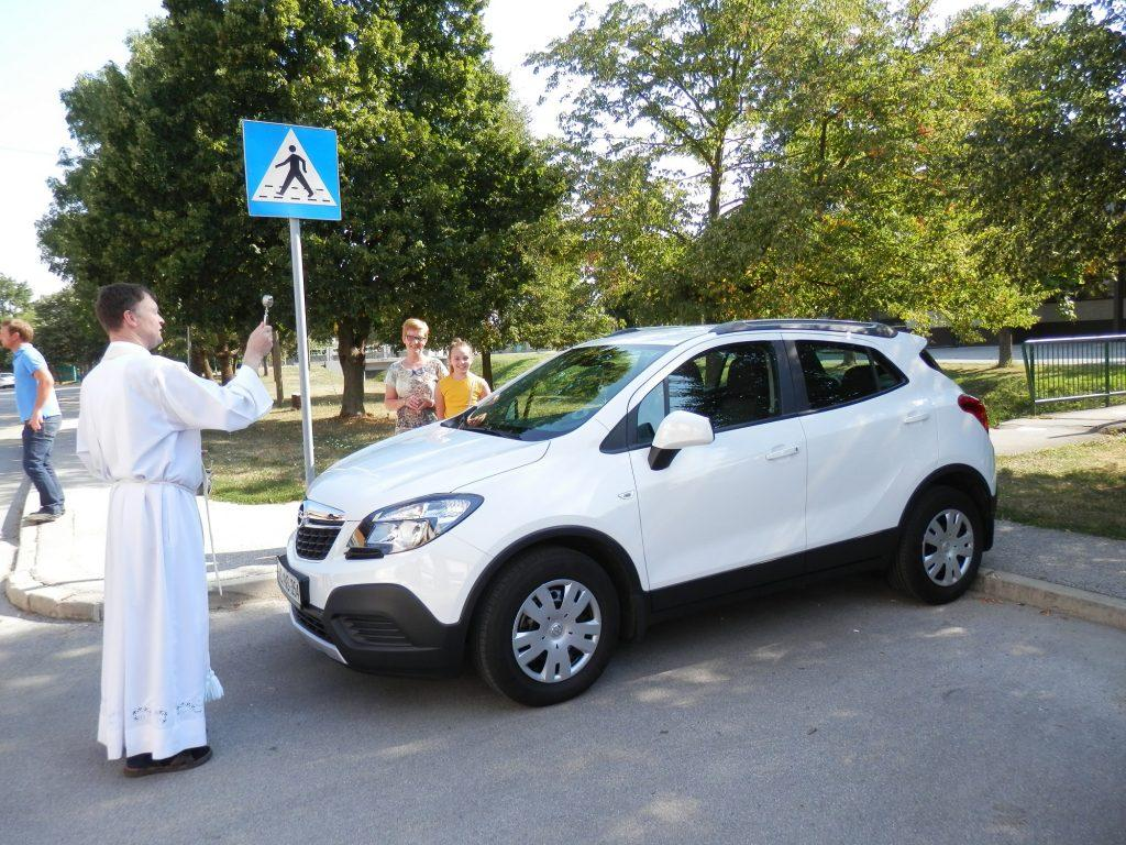 Krištofova nedelja - blagoslov vozil