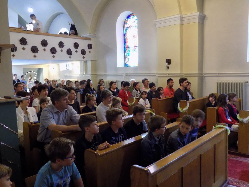 Srečanje staršev in otrok, kriščenih 2012-2017