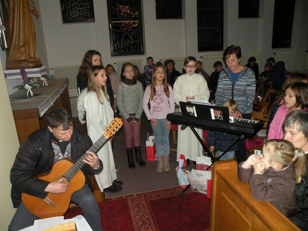 Miklavževanje - otroški zbor