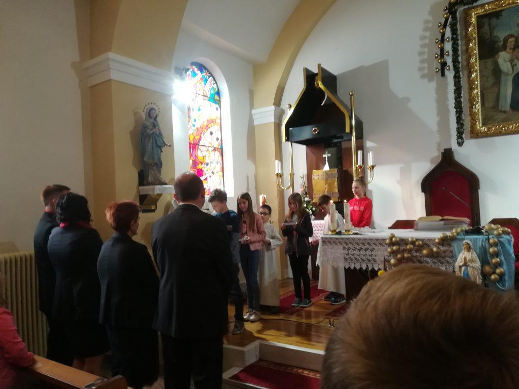 Misijonska nedelja - sodelovanje veroučencev