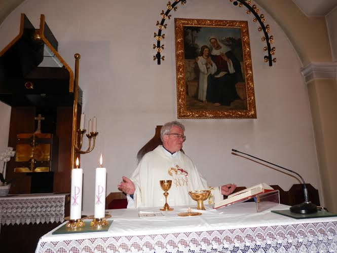 7. velikonočna - misijonar g.  Marjan Potočnik