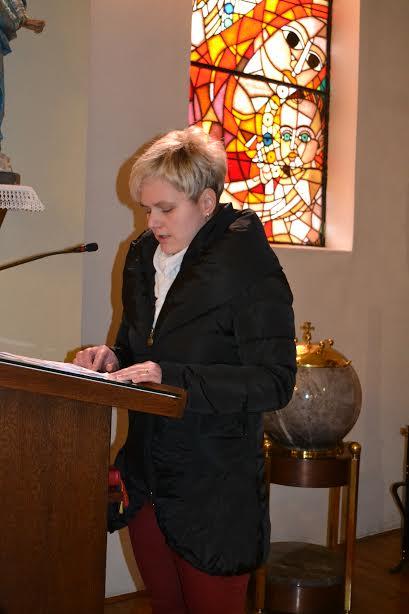 Sodelovanje pri maši - zakonska s. Sv.Klara