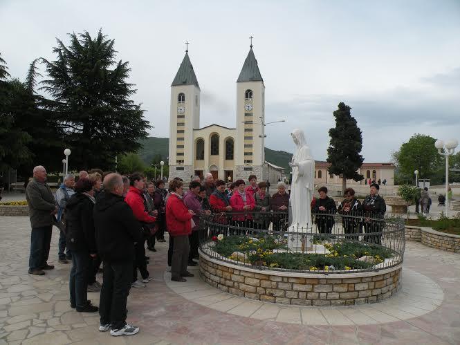 Romarji v Medžugorju