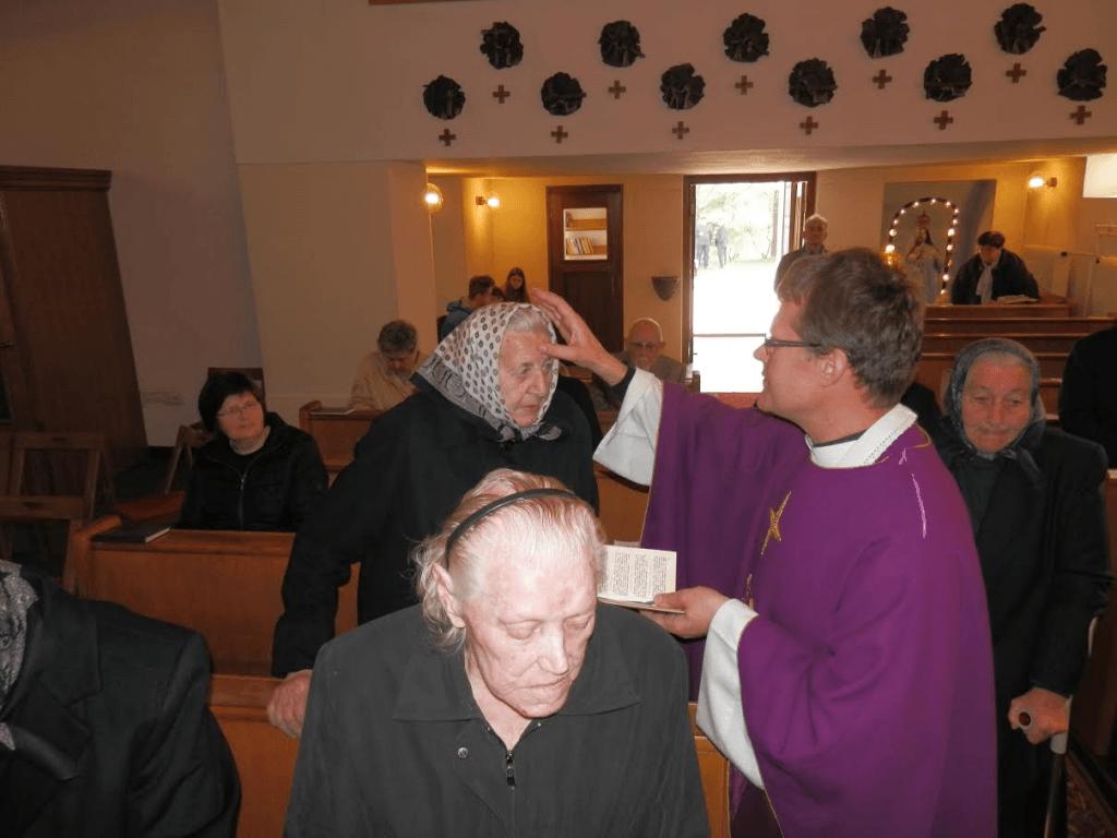 5. postna nedelja - maša za bolne in ostarele