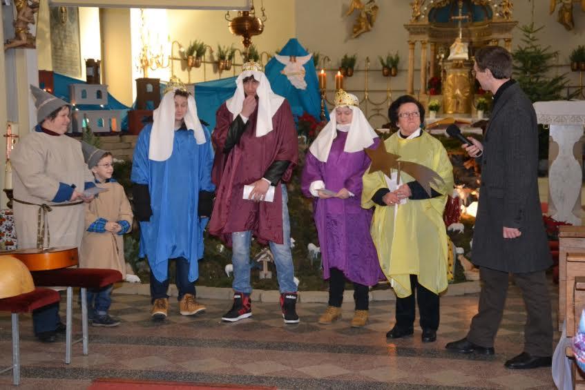 Škofijsko srečanje kolednikov - ekipa iz Bakovec
