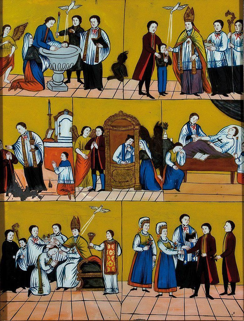 Zakramenti Cerkve