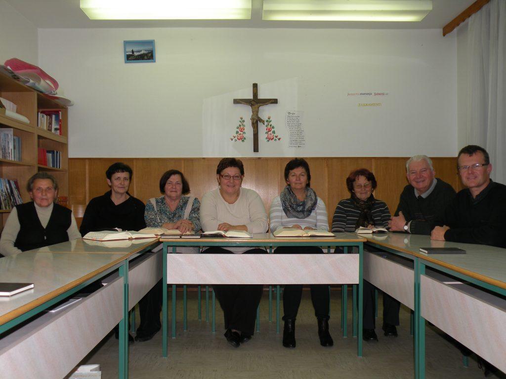 Biblična skupina se predstavi
