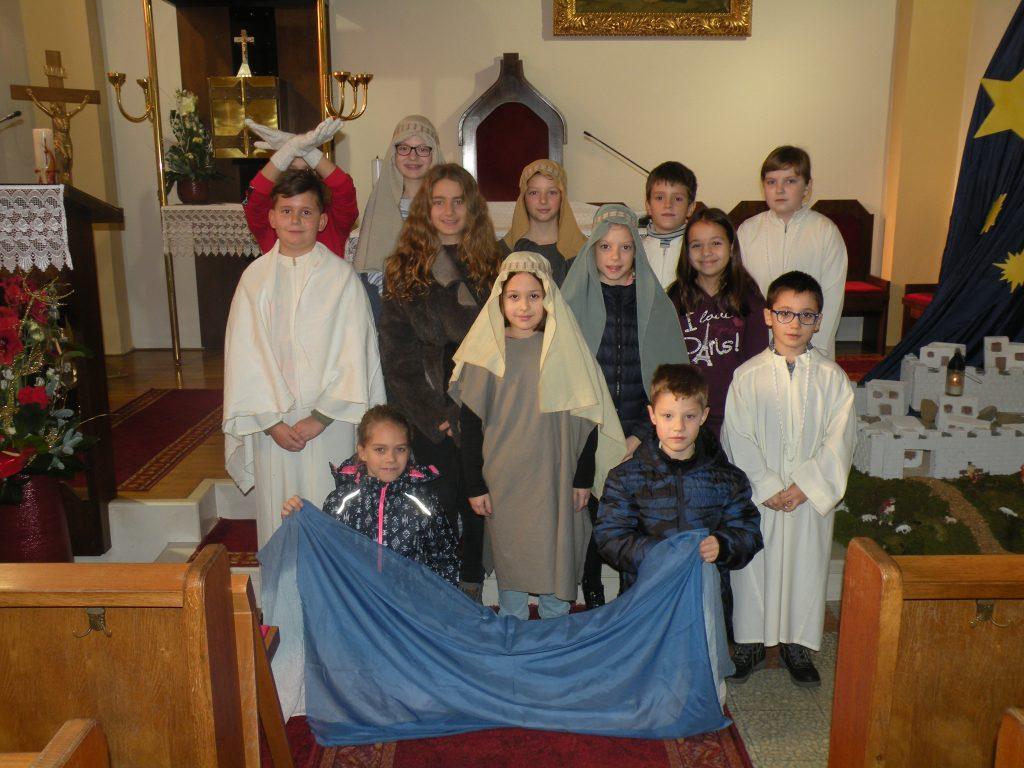 Nedelja Jezusovega krsta - sodelovanje pri sveti maši