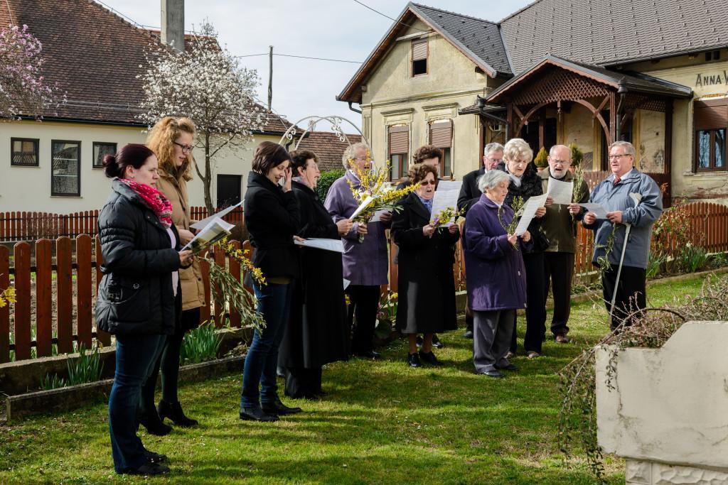 Cvetna nedelja - pevski zbor