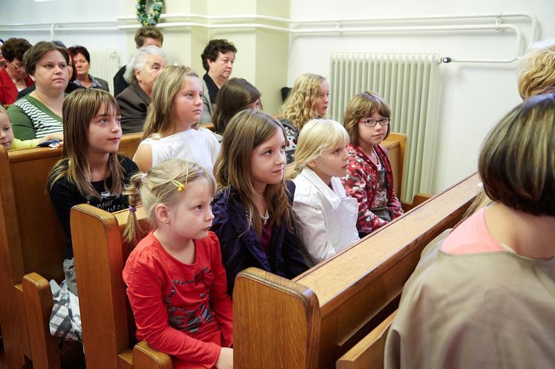 Katehetska nedelja ob začetku verouka