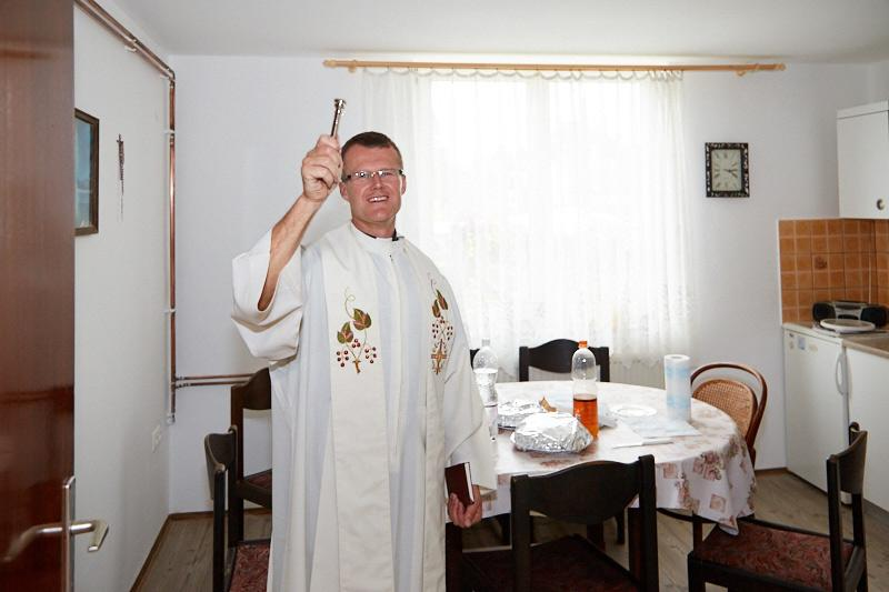 Blagoslov hiše pri Korpičevih