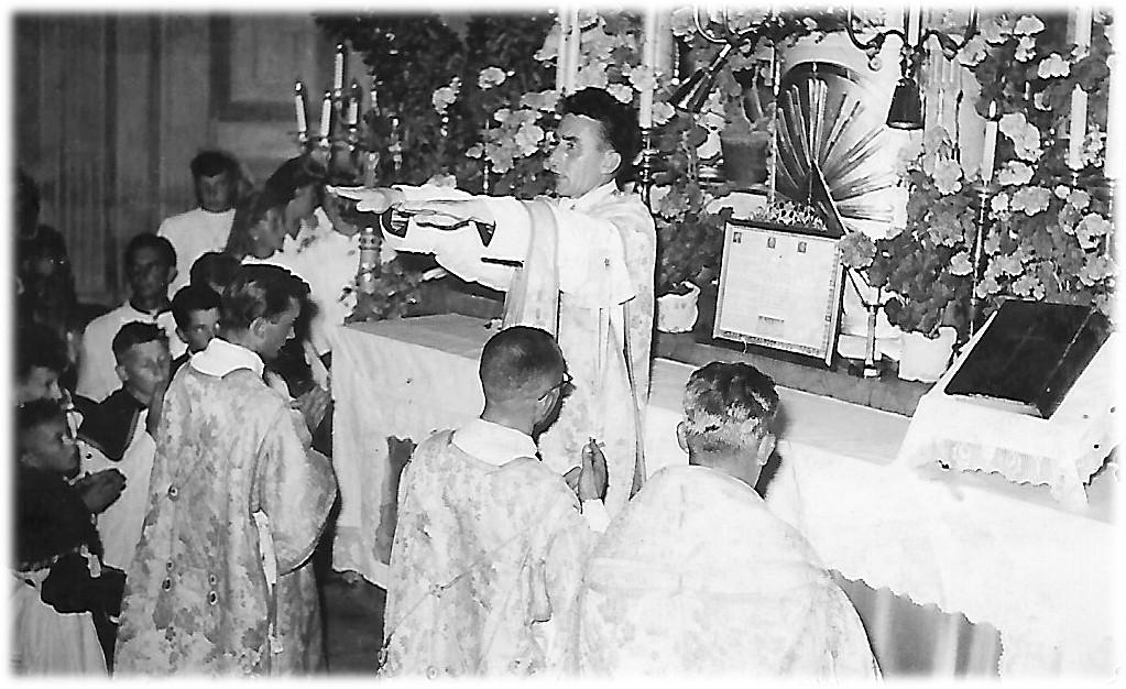 Novomašni blagoslov - Beltinci 1958