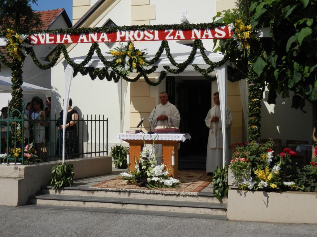 Proščenje Sv. Ane v Bakovcih 2013