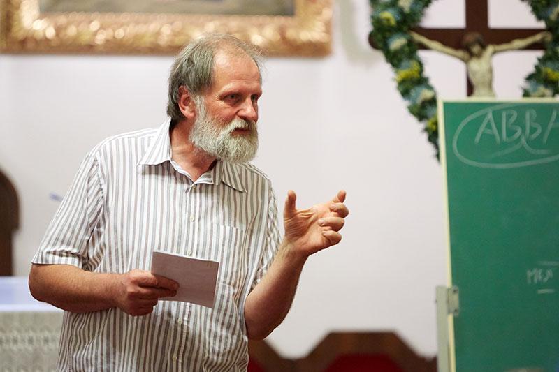 predavanje patra Karla Gržana