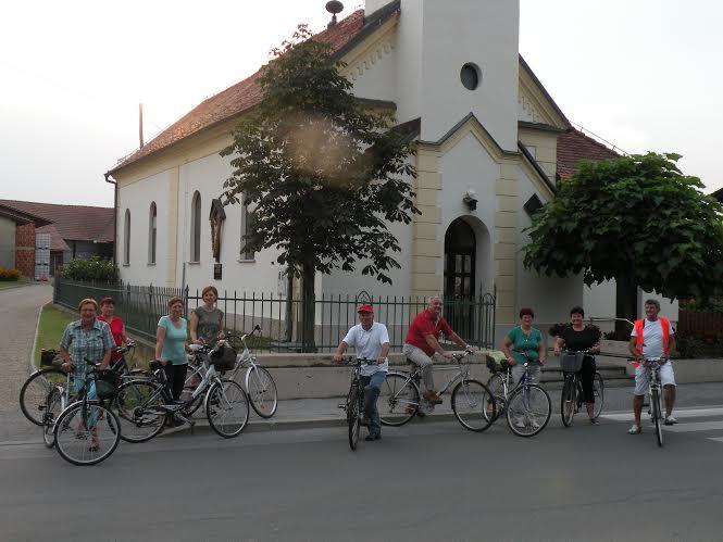 Romanje s kolesi v Turnišče