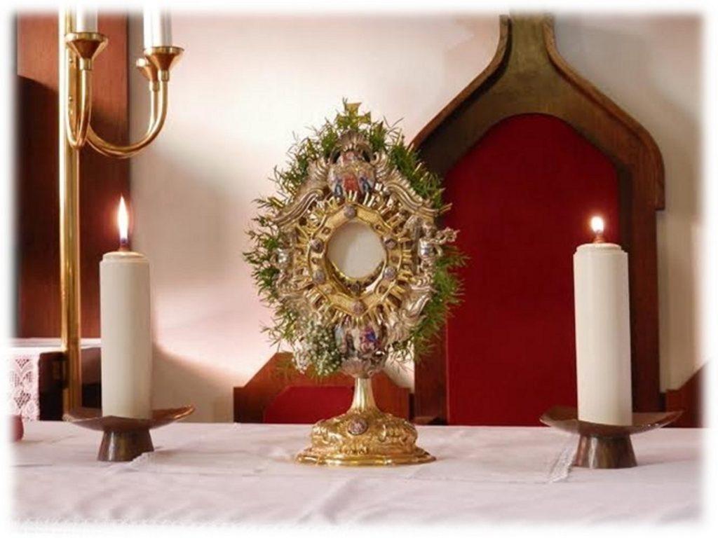 Celodnevno češčenje - molitev pred Najsvetejšim