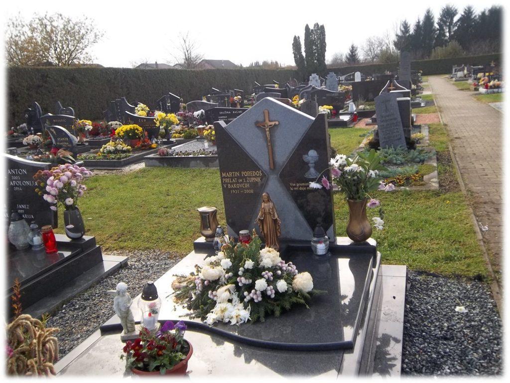 Grob župnika Martina Poredoša