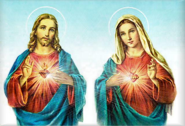 Jezusovo in Marijino Srce