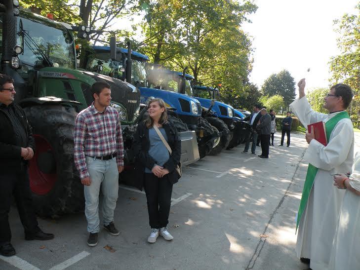 Slomškova nedelja - blagoslov traktorjev