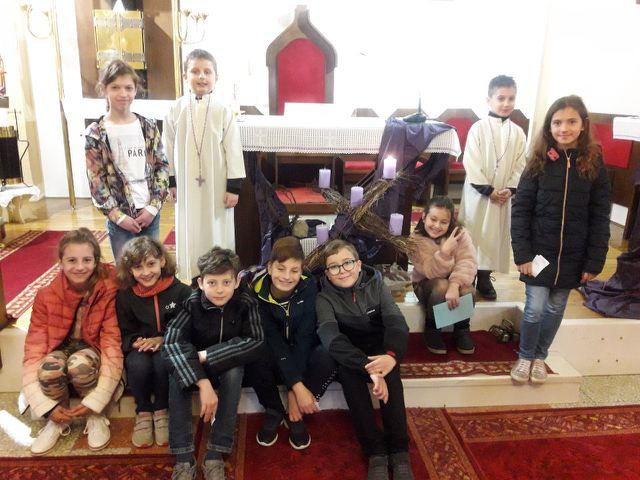 1. postna nedelja - sodelovanje pri sveti maši