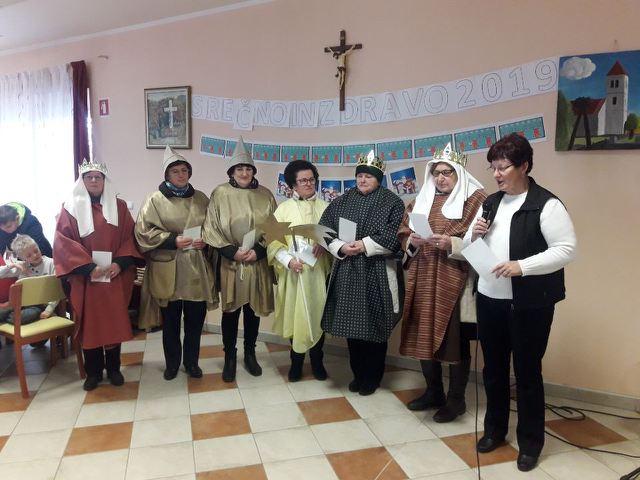 Škofijsko srečanje kolednikov - koledniki iz Bakovec