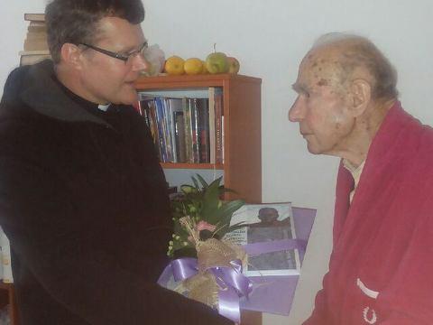 Obisk škofa dr. Jožefa Smeja