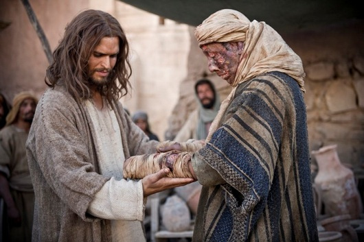 Jezus ozdravi gobavca