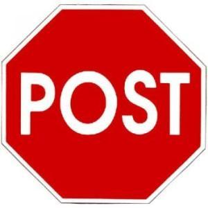 post-znak