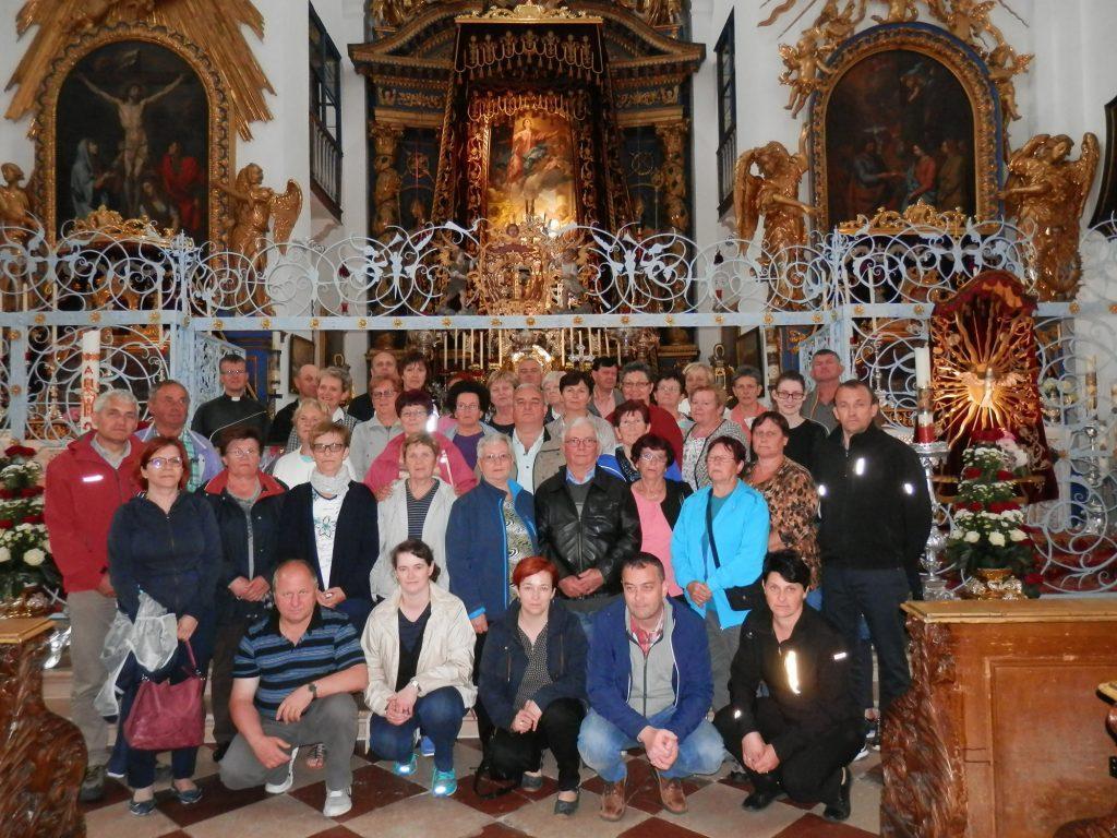 Romarji v baziliki Maria Plain, Bavarska