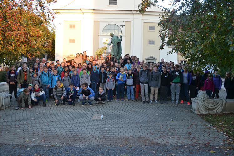Romanje ministrantov v Szombathely